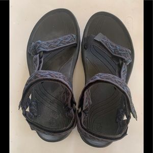 TEVA Mens Outdoors Hurricane XLT2 Blue Sandals